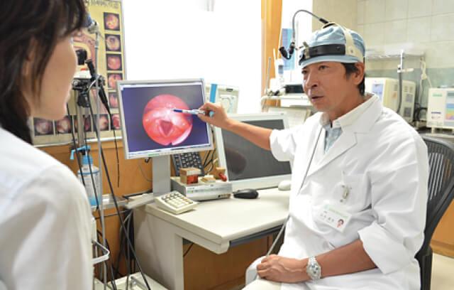 名鉄岐阜駅徒歩1分。お子さんからお年寄りまで信頼の耳鼻科です